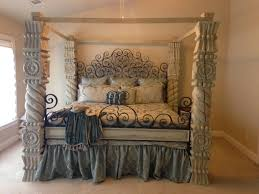 frame canopy bed sears com furniture of america brown cherry