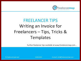 7 how to write an invoice for freelance sendletters info