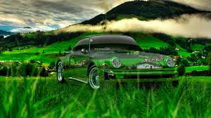 porsche 911 turbo 1976 tuning crystal nature car 2014 el tony