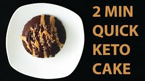 keto friendly cake in under 3 minutes recipe youtube