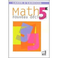 Math 5ème Cahier dexercices  Scolaire et Parascolaire  Art