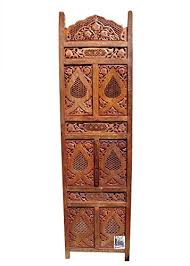sheesham wood wooden screen partition kashmiri 72x80 4 national handicrafts 491 carving parttition divider best price