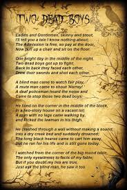 Poem On Halloween Glenda U0027s World Two Dead Boys Poem By Tyler Rager