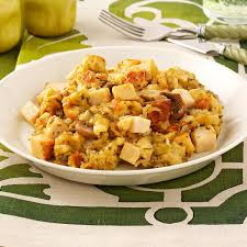 slow cooker thanksgiving stuffing slow cooked chicken and stuffing recipe taste of home