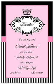 divas sweet 16 invitations myexpression 11940