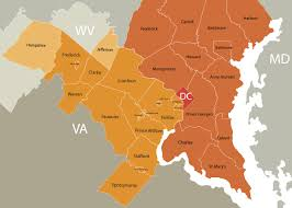 Washington Dc Area Map by Washington Dc Metro Real Estate Jobs Real Estate Job Site