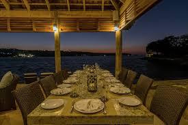 round table discovery bay makana on the beach jamaica villa by linda smith