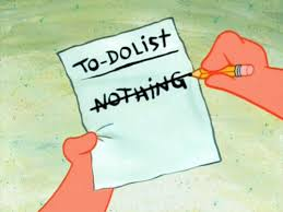 Nothing Meme - to do list nothing spongebob squarepants know your meme