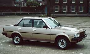 toyoda car my second car the 1981 toyota corolla this was given to me by my