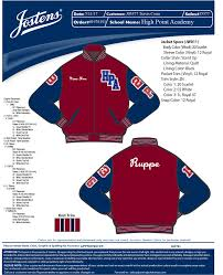 josten letterman jacket high point academy letter jacket ordering day