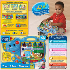 vtech table touch and learn vtech touch and teach elephant book