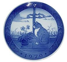 royal copenhagen 1970 porcelin plate