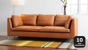 Ikea 2 Seater Leather Sofa Outstanding Fabulous Ikea Leather Sofa 2 Seater Faux With Regard