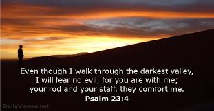 Your Rod And Your Staff Comfort Me April 28 2017 Bible Verse Of The Day Psalm 23 4 Dailyverses Net