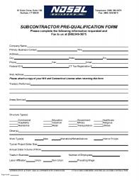 qualify vendor application for construction companies