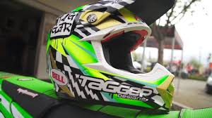 bell red bull motocross helmet tagger designs from the shop to the track youtube