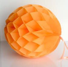 Hanging Party Decorations Apricot Paper Honeycomb Hanging Party Decorations U2013 Decopompoms