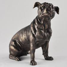 staffordshire bull terrier statue staffy figurine ornament