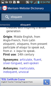 meriam webster dictionary apk zte blade nubia dictionary merriam webster versionvaries with