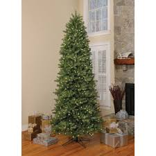 slim christmas tree with led colored lights ge 9 ft artificial slim spruce pre lit led easy light technology
