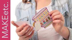 Card Making For Children - diy easy card making for kids how to make a u0027think of me u0027 tea