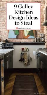 how to make a small galley kitchen work 20 stunning exles that show how to make a galley kitchen