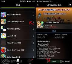 game get rich mod untuk android cara mengatur sendiri lawan bermain di line let s get rich