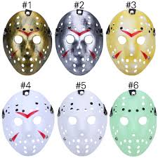 halloween masks mascara dance gathering jason mask horror funny