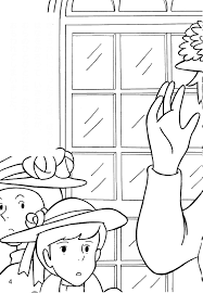 green coloring page ann of green gables coloring pages