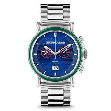 the wrigley field chrono u2013 original grain watches