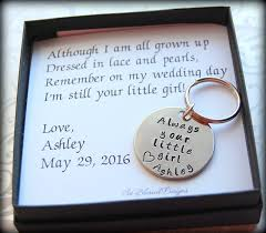 Personalized Gifts For The Bride Father Of The Bride Dads Keychain Gift For Father Of The