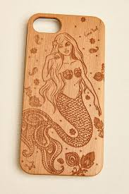 mermaid wood iphone 6 6s earthbound trading co