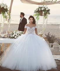 Wedding Dresses Plus Size Ball Gown 2016 Wedding Dresses Lace Cap Sleeves 2015 Bridal Gowns