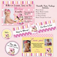 1st birthday invitations free templates manual template