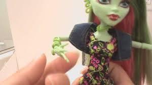 monster high dolls venus mcflytrap review youtube