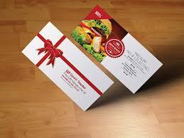 discount restaurant gift cards restaurant gift voucher invitation templates creative market
