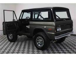 jeep bronco white 1975 ford bronco for sale classiccars com cc 984138