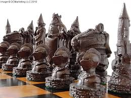 fantasy chess set lord of the rings chess set fantasy chess sets dragon chess sets