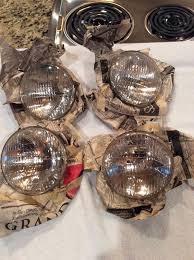 nos ford mustang parts 1964 1968 ford mustang fomoco script logo headlight bulbs original