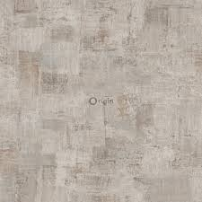 silk printed non woven wallpaper painterly texture light beige