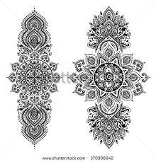 Indian Art Tattoo Designs 260 Best Ornament Tattoo Images On Pinterest Mandalas Drawings