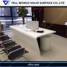 mobilier de bureau haut de gamme ultra cool direct tech usine moderne de marbre table de bureau haut