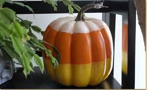 pumpkin candy corn candy corn pumpkin craft project ideas