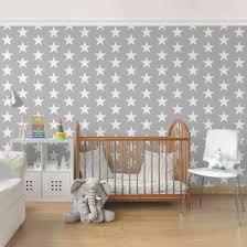 babyzimmer grau wei kinderzimmer tapete sterne fh44 hitoiro