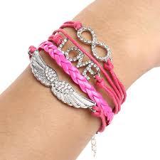 cross bracelet charm images New love infinity cross bracelet charm wing angel cross eye jpg