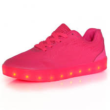 led lights shoes nike led light up trainers women neon pink