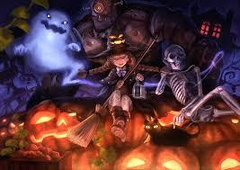 tf2 halloween background halloween anime 812108 walldevil halloween anime backgrounds