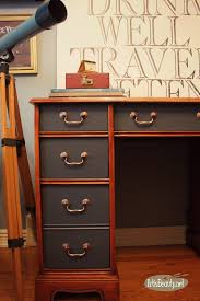 Diy Executive Desk Art Is Beauty Executive Desk Makeover Using General Finishes
