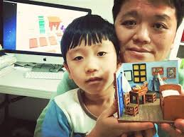 chambre à coucher gogh la chambre à coucher sud coréenne de gogh replié de père et de