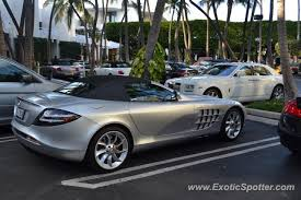 mercedes slr spotted in miami florida on 01 20 2012 photo 2